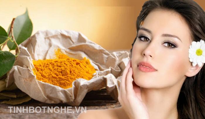 lợi ích uống tinh bột nghệ vàng